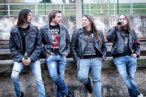 Studentenband Reaper's Scythe spielt Trash Metal