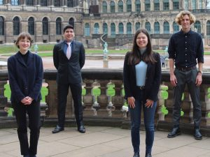 elbMUN Executive Board im Dresdner Zwinger