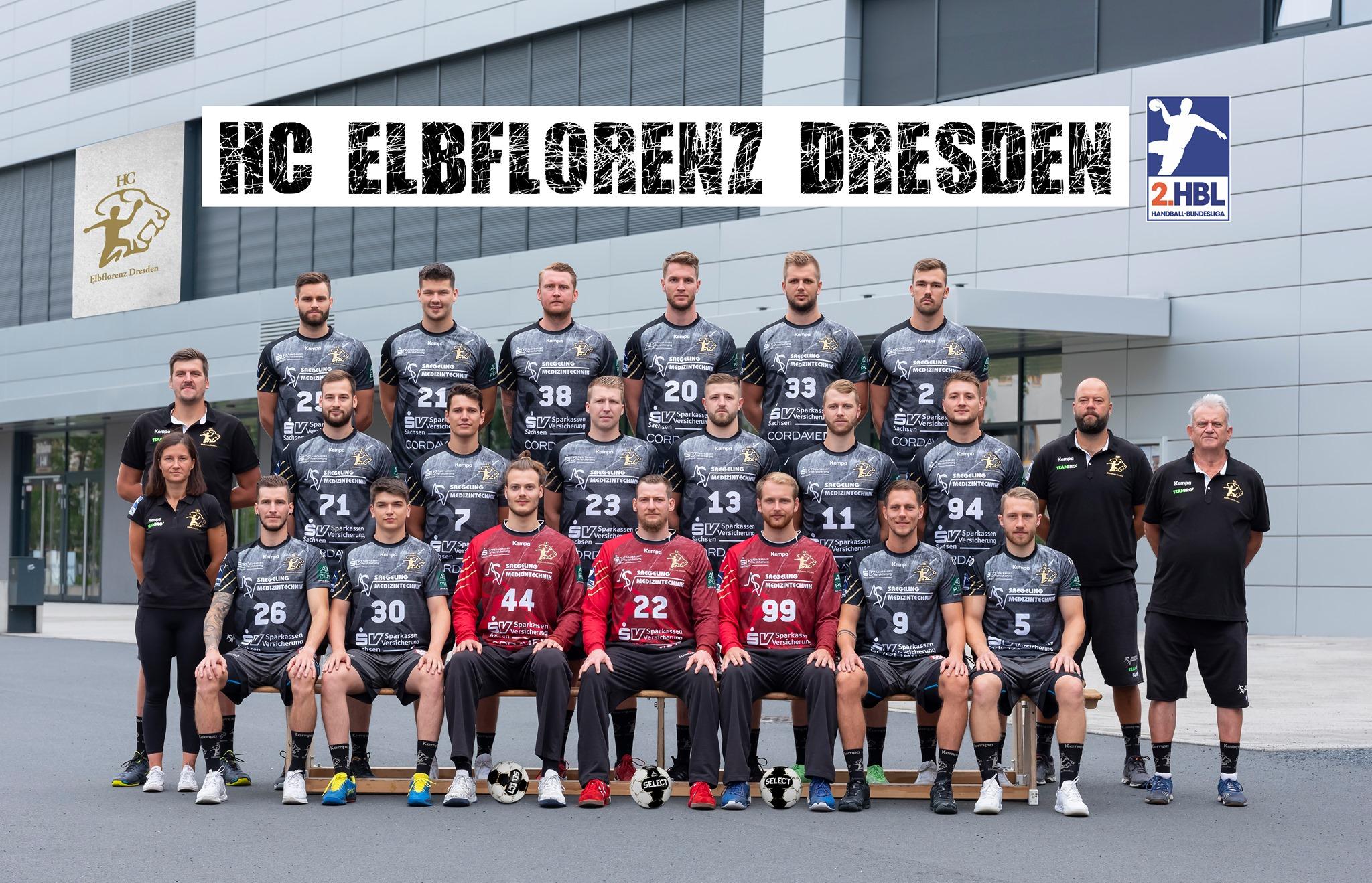 Mannschaftsfoto HC Elbflorenz